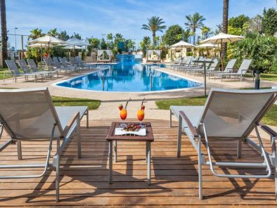 Marbella Tennisferie Occidental Estepona Thalasso Spa Pool Område