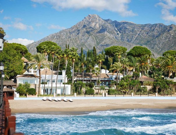 Sun Smash Tennis Vacations nyd livet på Golden Mile Marbella