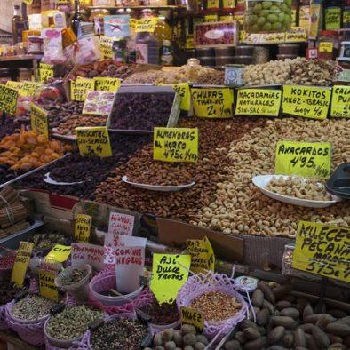 Olives at malaga market