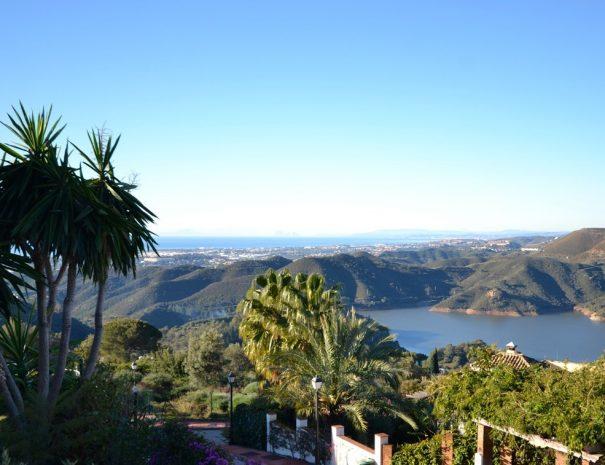 Sun Smash Tennis Vacations Udsigt fra La Choncha Marbella