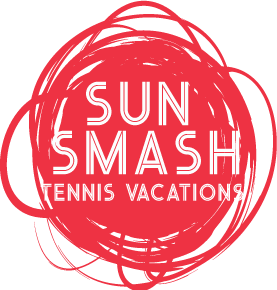Sun Smash Tennis Vacations Logo