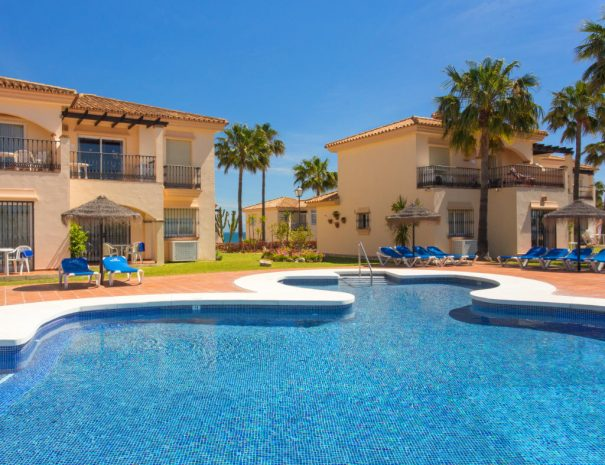 Select Marina Park Pool area and townhouses