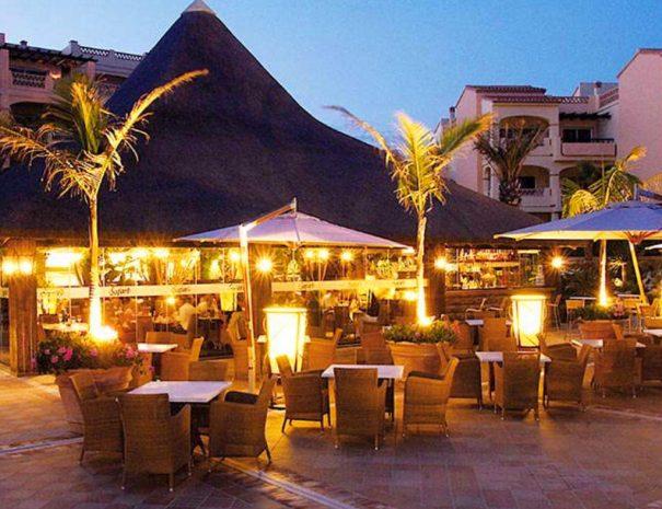 Select Marina Park outdoor bar area